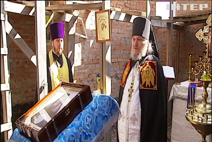 За підтримки Української Православної Церкви у Межигір'ї відновлюють козацький монастир