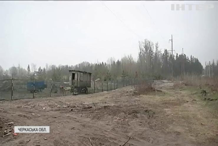 На Черкащині одіозний блогер забудував 4 гектари узбережжя Дніпра