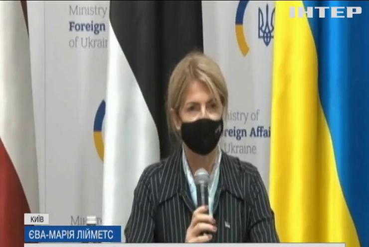 Країни Балтії допоможуть Україні у боротьбі з російською агресією