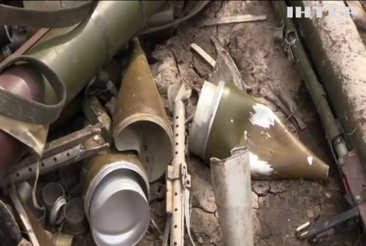 На Донбасі бойовики активно використовують безпілотники з гранатами