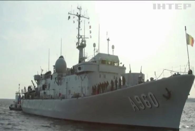Країни НАТО розпочали навчання у Балтійському морі