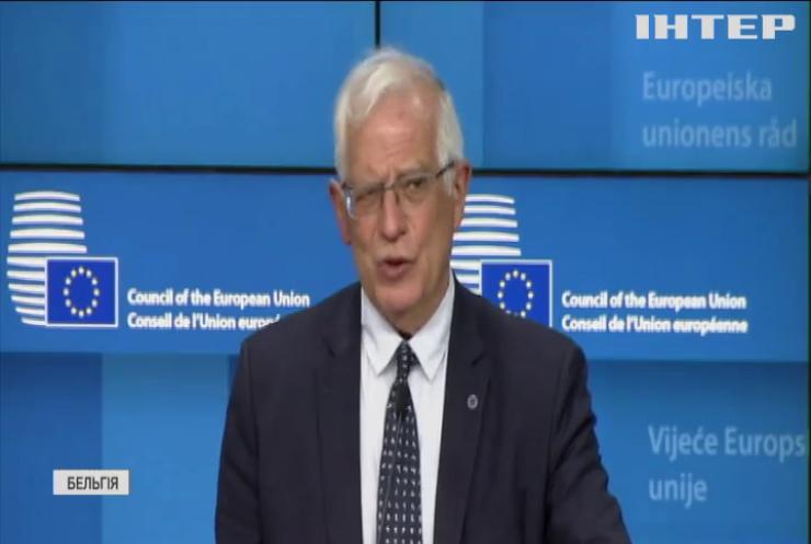 У Євросоюзі обговорили ескалацію на сході України