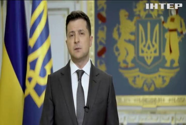Володимир Зеленський запросив Путіна зустрітися на Донбасі