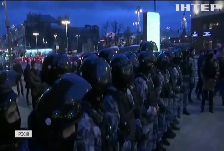В Росії затримали півтори тисячі прихильників Олексія Навального