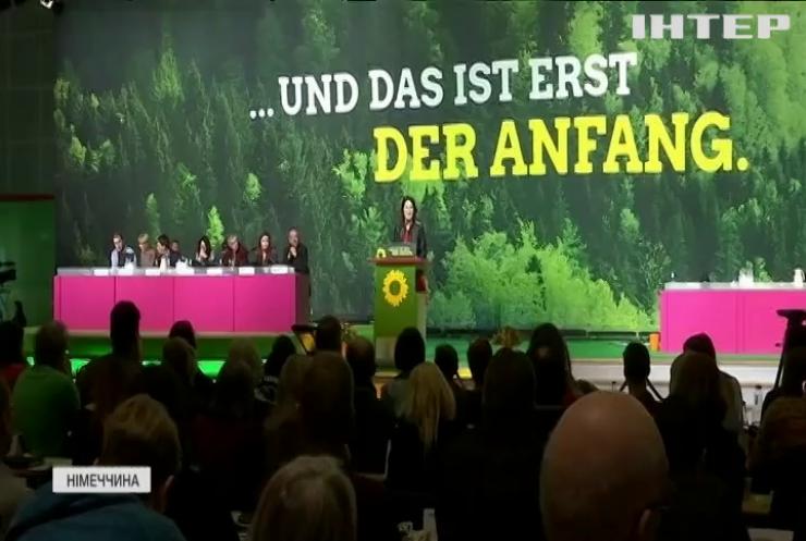 """""""Зелені"""" Німеччини стрімко набирають прихильників"""
