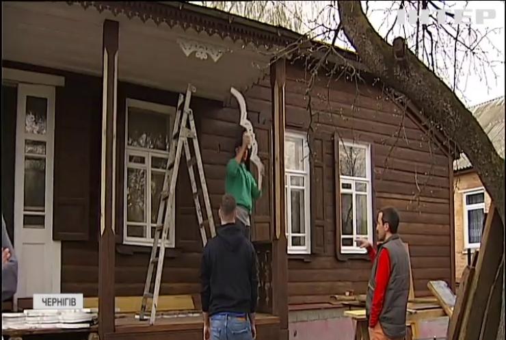 У Чернігові відновлюють фасади пам'яток архітектури