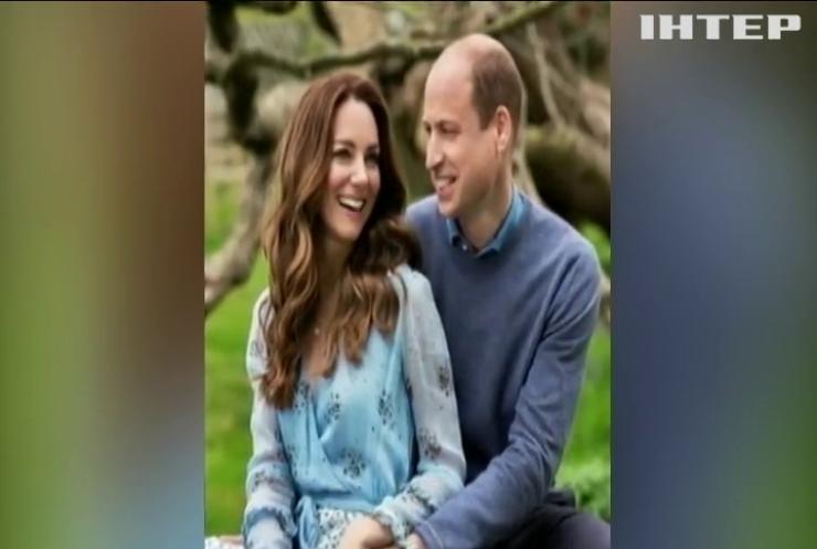 """10 років разом: принц Вільям та Кетрін Міддлтон відзначають """"олов'яне весілля"""""""