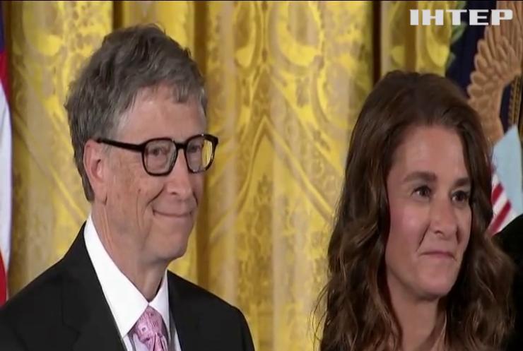 Білл Гейтс розлучається з дружиною