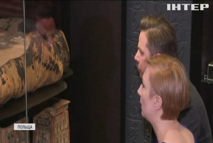 У Варшавському музеї знайшли вагітну мумію (відео)