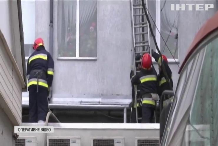 У Вінниці в Офісному центрі живцем згоріла людина