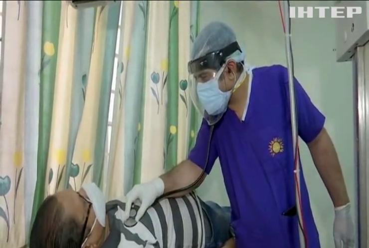 Індія посідає перше місце по захворюваності на COVID-19