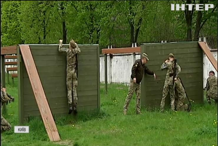 Київський військовий ліцей Івана Богуна готується випустити перший дівочий взвод