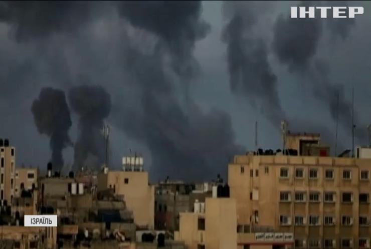 Криза в Ізраїлі: армія завдає ракетних ударів по сектору Гази