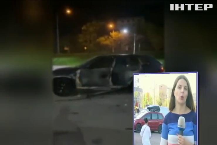 В Івано-Франківську пострілом з гранатомета підірвали машину