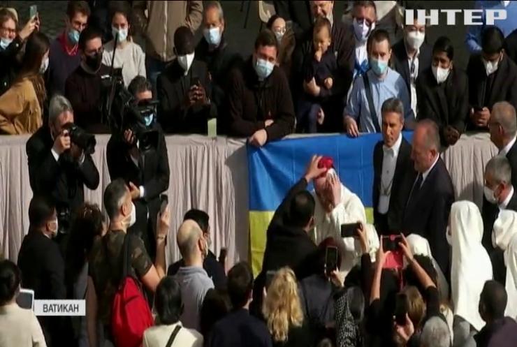 Папа Римський Франциск відновив публічні аудієнції у Ватикані