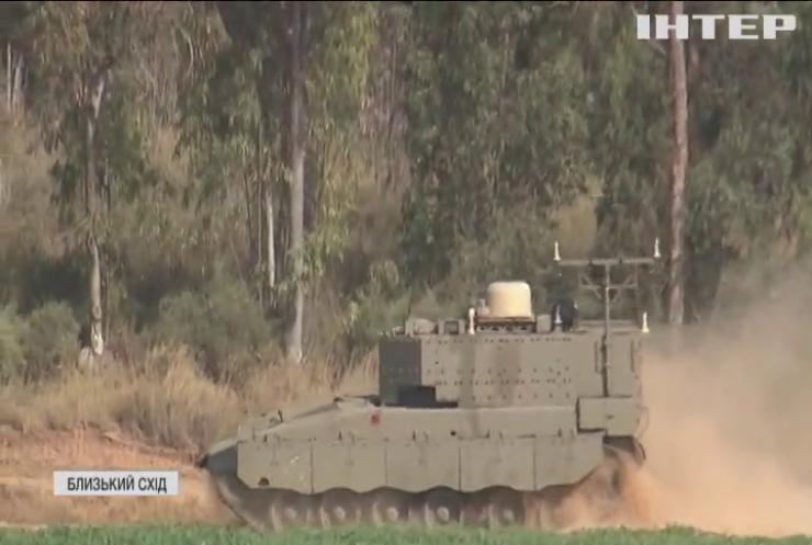Військово-повітряні сили Ізраїлю обстріляли Сектор Гази