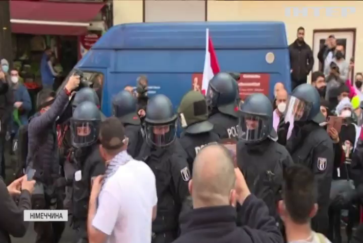 Німеччиною прокотилися протести палестинців та ізраїльтян