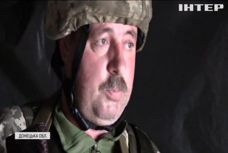 На Донбасі бойовики намагаються вести обстріли вночі