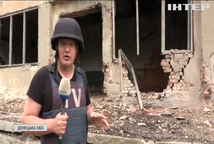 На Світлодарській Дузі українські позиції обстріляли з великокаліберних мінометів