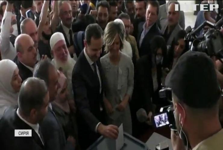 США та Євросоюз розкритикували вибори у Сирії
