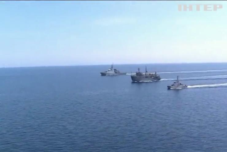 ВМС України і Британії провели спільні навчання у Чорному морі