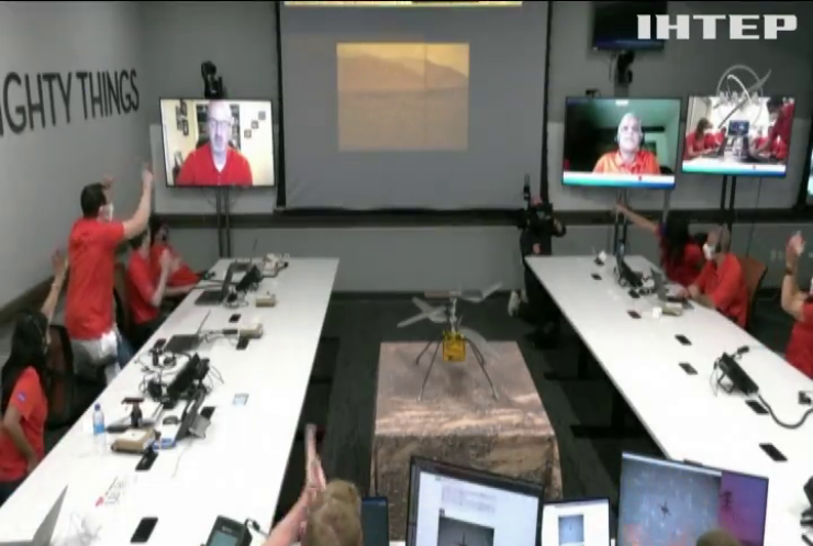 Вертоліт NASA Ingenuity здійснив аварійний політ над Марсом