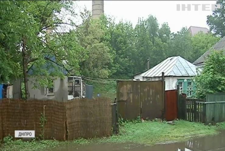 У Дніпрі місцева річка підтопила десятки будинків