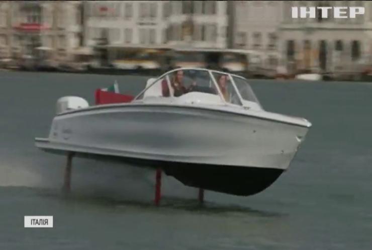 На каналах Венеції з'явиться човен з підводними крилами