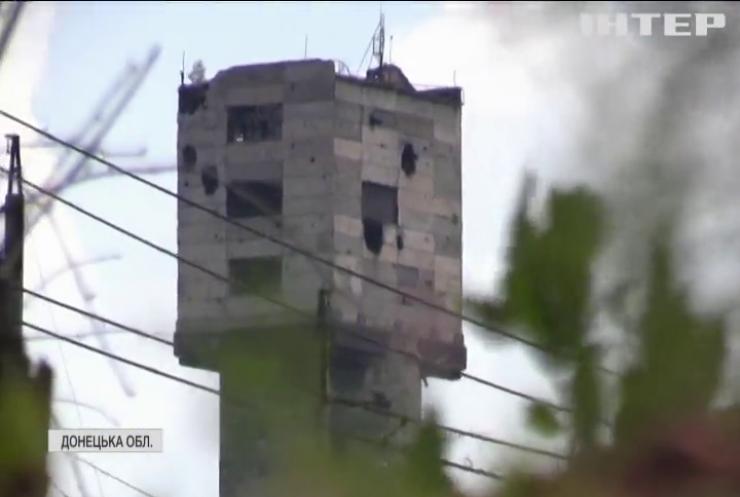 Поблизу окупованої Горлівки не припиняються ворожі обстріли