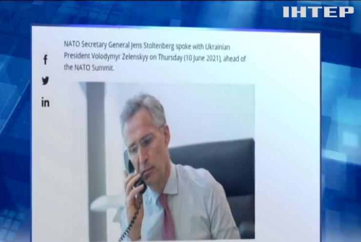 Україна і НАТО обговорили нарощування російської присутності на українських кордонах