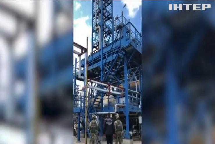 На Харківщині виготовляли контрафактне пальне
