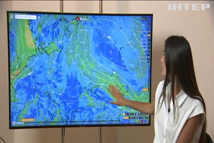 Видно з космосу: Київську область накрила гігантська піщана буря