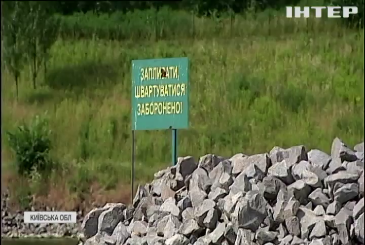 На Київському водосховищі масово гине риба: екоінспекція взяла проби води