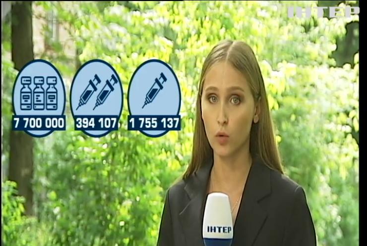 Максимальне прискорення: в Україні достроково стартувала четверта хвиля імунізації