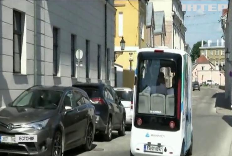 Естонці запустили безпілотний водневий автобус