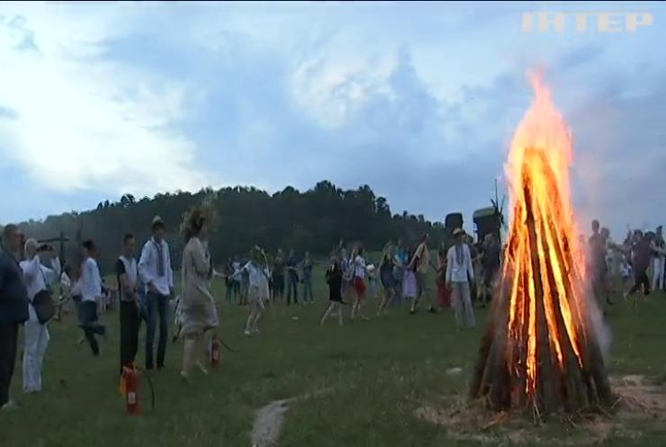 В Україні за старовинними традиціями відзначили свято Івана Купала