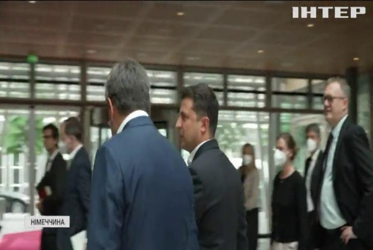 Володимир Зеленський прибув до Німеччини з робочим візитом
