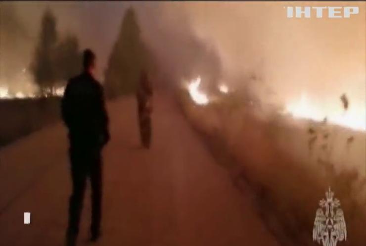 Росію охопили масштабні лісові пожежі