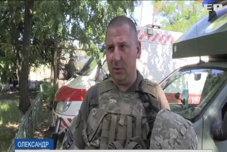 На Донбасі противник застосував міномети великих калібрів