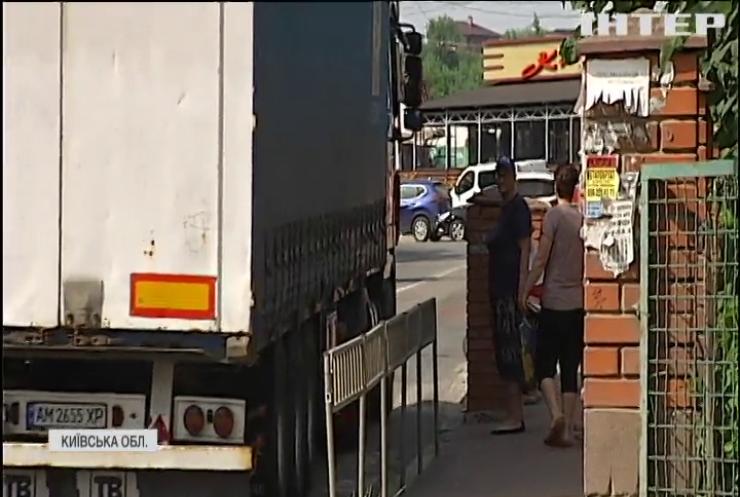 """В """"Опозиційній платформі - За життя"""" закликають посилити контроль за проїздом вантажівок дорогами місцевого значення"""