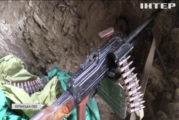 На Луганщині найманці обстріляли позиції ЗСУ керованими ракетами