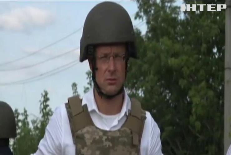 Голови МЗС України та Угорщини відвідали Донбас