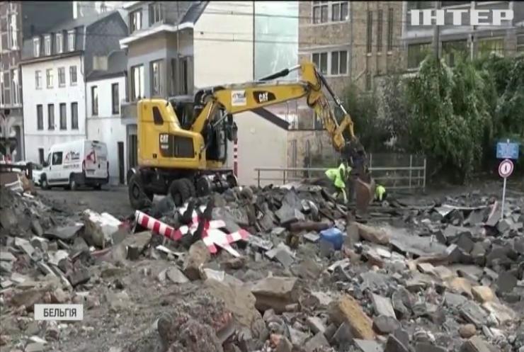 Бельгія опинилася в епіцентрі масштабної повені