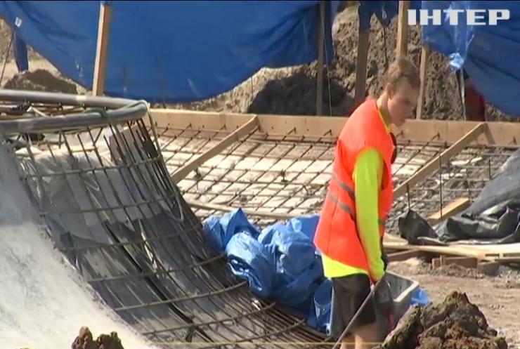 На ВДНГ у Києві облаштовують спортивний кластер