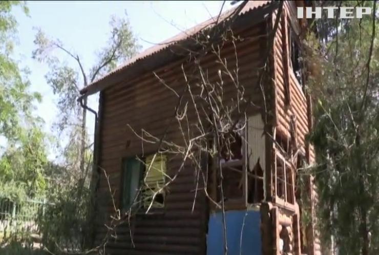 На Луганщині ворожий безпілотник перетнув лінію розмежування