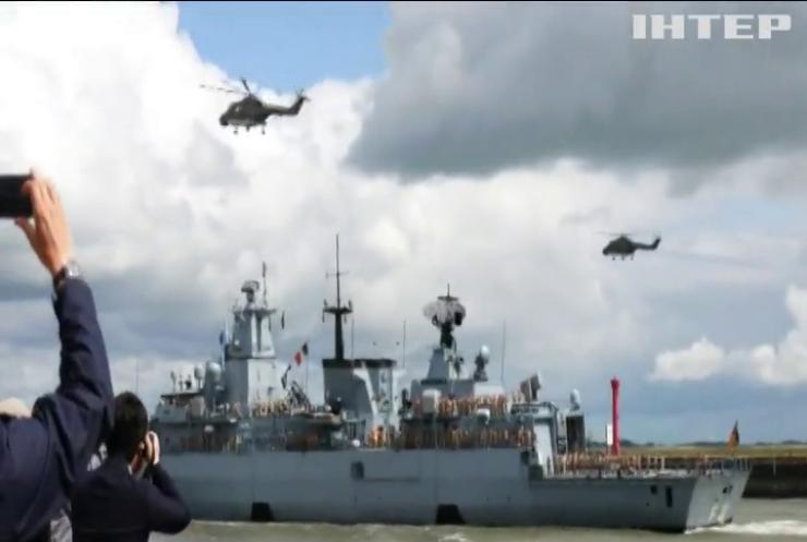 Німеччина спорядила в Тихий океан військовий корабель