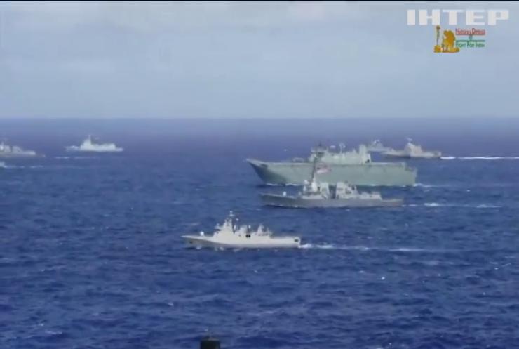Військово-морські сили США розпочали грандіозні навчання
