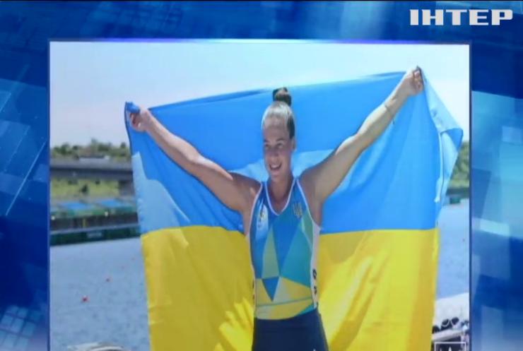 Українська гребчиня Людмила Лузан здобула бронзу на змаганнях з 200-метрівки на каное