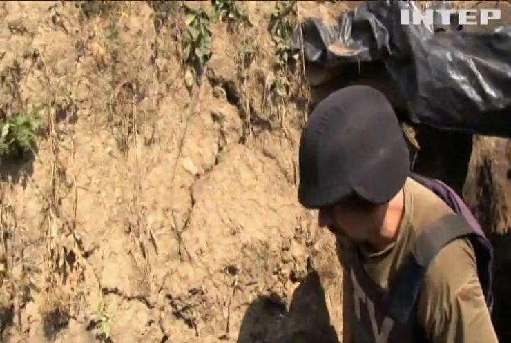 Ворог застосував на Донбасі важкі міномети