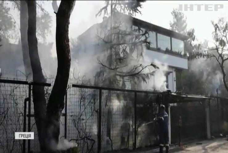 Лісові пожежі у Греції знищили понад 200 будинків